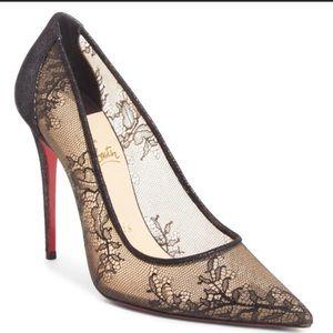 Christian Louboutin Lace Heels